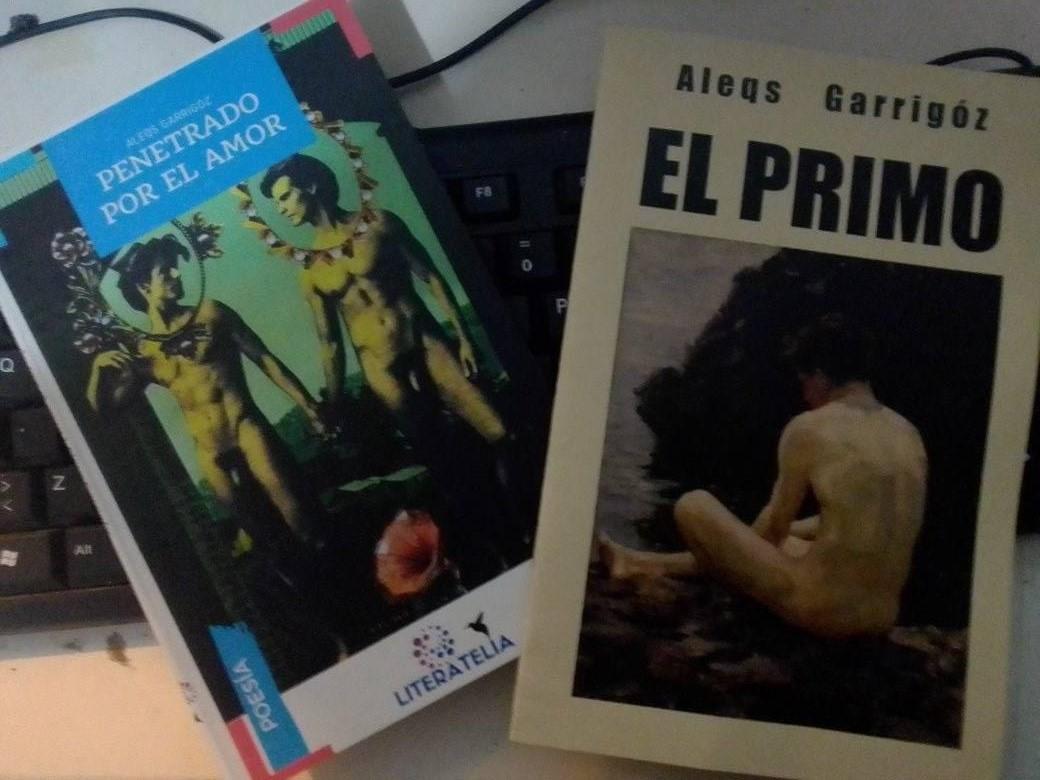 ENTREVISTA A ALEQS GARRIGÓZ SOBRE SUS DOS ÚLTIMOS LIBROS ERÓTICOS Aarón Álvarez